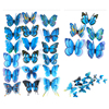 10pcs  Artificial Butterfly Luminous Fridge Magnet for Home Christmas Wedding Decoration 4