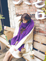 Scarves Pashmina Winter New Pattern Color Wool Scarf Knitting Scarf Shawl Bandanas