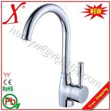 X8510K2-Бортике Хромированная Отделка Латунь Материал Горячей и Холодной Воды Смеситель Для Кухни