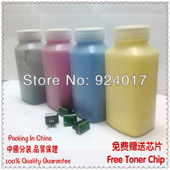 For Xerox 2424 2425 2426 2428 Epson C9800 C9100 9800 9100 Color Printer Bottle Toner Cartridge Powder Kit With Free Chip,4 Color