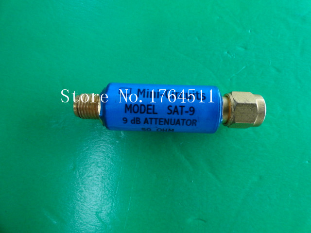 [BELLA] MINI SAT-9 DC-1.5GHz Att:9dB 2W SMA Coaxial Fixed Attenuator  --5PCS/LOT