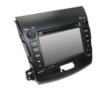 For in dash Quad core Mitsubishi Outlander 2006-2011 car dvd player GPS with WiFI+FM/AM Radio+Bluetooth+Multimedia+USB/SD+Canbus