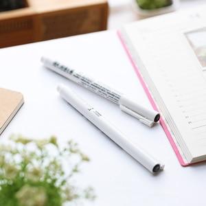 Image 4 - 8 cái/lốc Marvy nghệ thuật bút vẽ và Bàn Chải Phác Thảo Lót sắc tố hoạt hình bút gel Anime dụng cụ Văn Phòng Phẩm trường cung cấp 6861