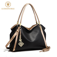 LUDESNOBLE Brand Luxury Handbags Women Bags Designer Bag Women Leather Handbags Shoulder Bag Female Bags Bolsas