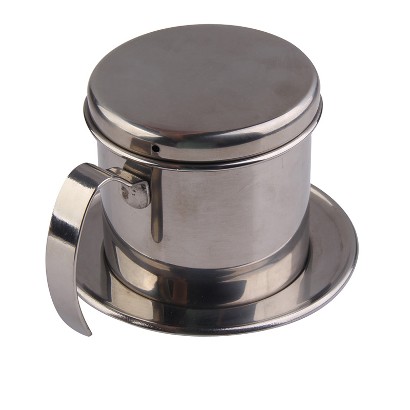 Kitchen Accessories Coffee Filter Stainless Steel Vietnamese Coffee Drip Cup Filter Maker Strainer Coffeeware Filters Cups JY