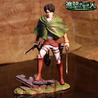Anime Attack on Titan Rivaille PVC Action Figure Collection Model Toy 20CM