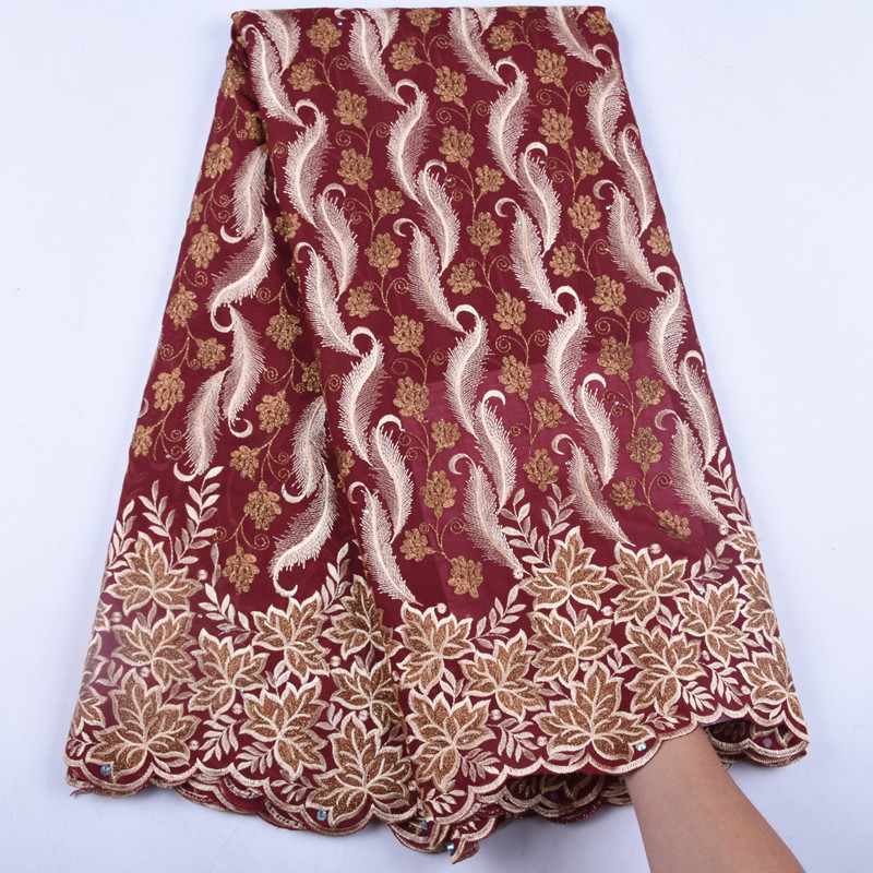 African Lace Fabric Swiss Voile Laces Fabrics High Quality Cotton Lace Fabric French Lace Fabric For