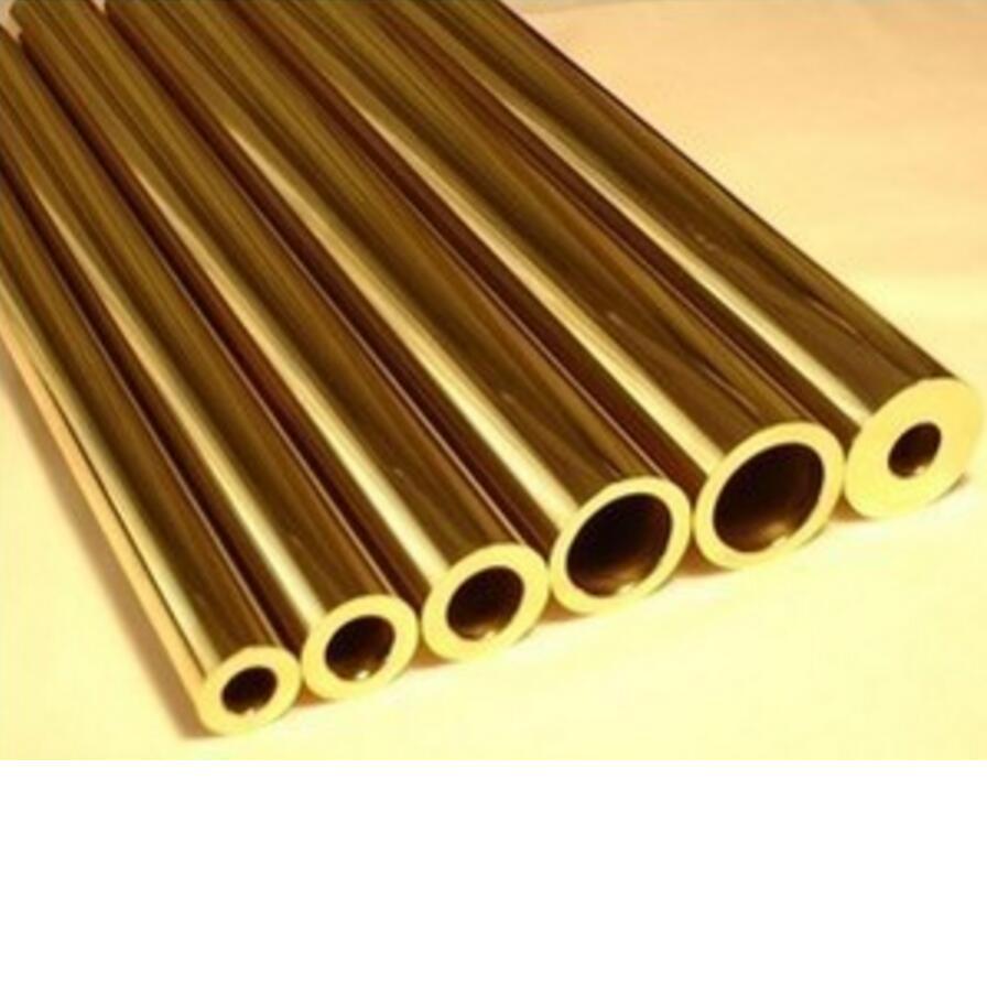 brass tube brass pipe DIY knife handle diameter 1.5mm,2mm,3mm,5mm,6mm,8mm,10mm diameter 300mm length copper tube high purity plumbing pipe diy rod 3mm 4mm 5mm inner diameter
