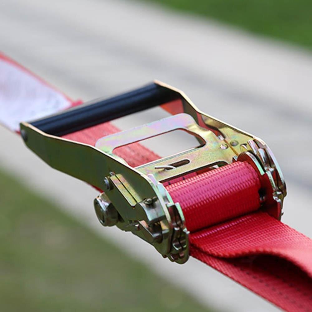 10*0.5 m Sports extrêmes en plein air Slackline nouveau Style épaississement corde souple Fitness Balance corde - 5