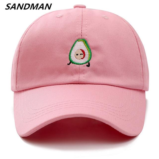 215b52496ff SANDMAN High Quality Cotton AVOCADO Snapback Cap Baseball Cap For Men Women  Hip Hop Dad Hat