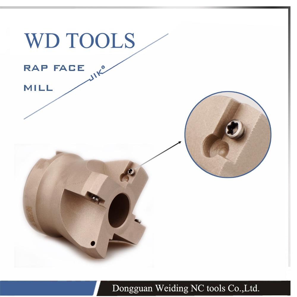 RAP 400R 80-27-5T Diametro di taglio del laminatoio per spianatura - Macchine utensili e accessori - Fotografia 4