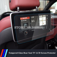 Tempered Glass Rear Seat TV LCD Screen Protector For BMW 5 Series G30 2017 2018