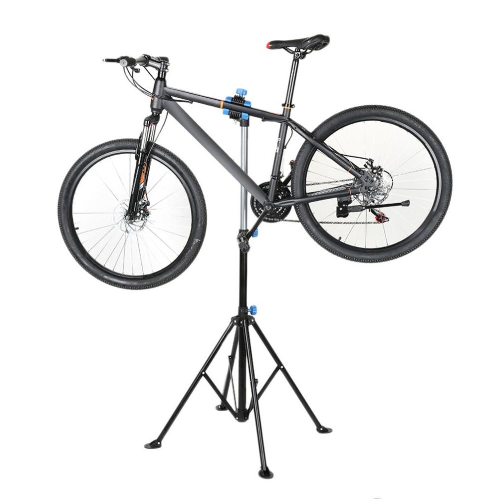 Professional Adjustable Height Bike Repair Stand Telescopic Arm Bicycle Rack Free Shipping pr 168 bicycle repair station maintenance work iron bicycle bike repair tools display