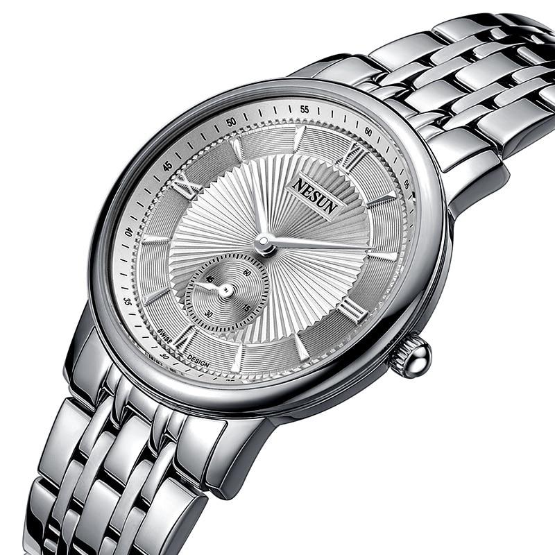 Nesun Switzerland Luxury Brand Watch Women Japan MIYOTA Quartz Movement Women's Watches Stainless Steel Couple's clock N8501-SW1