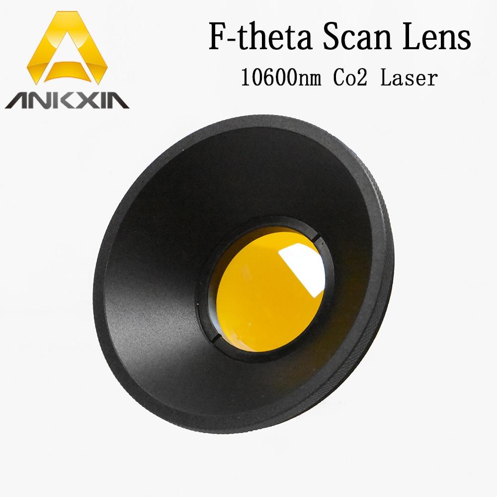 10 6um 10600nm CO2 F theta Scan Lens Field Lens 50x50 600x600 FL63 650mm for YAG