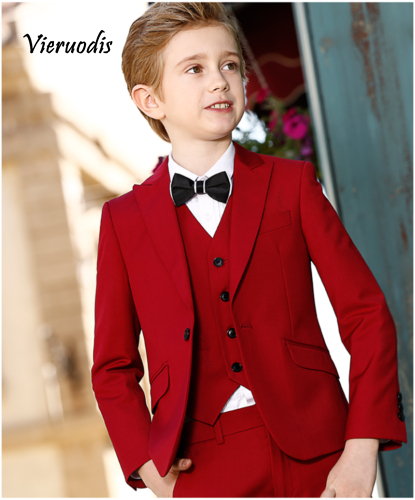 Boys Wedding Suits Prom Suits For Kids Flower Boy Suits Children Party Prom Suit