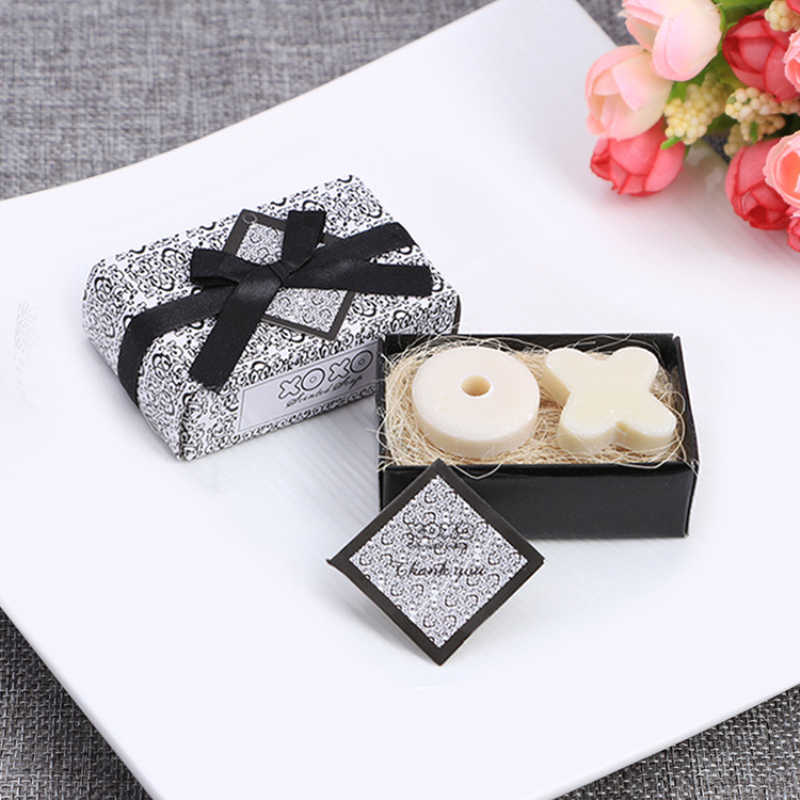 Mini Handmade สบู่น่ารักรูปร่างเล็กสบู่ Handmade Soap ที่ไม่ซ้ำกันของที่ระลึกเทียนหอมงานแต่งงานของขวัญ Party Supplies Skin Care TSLM1