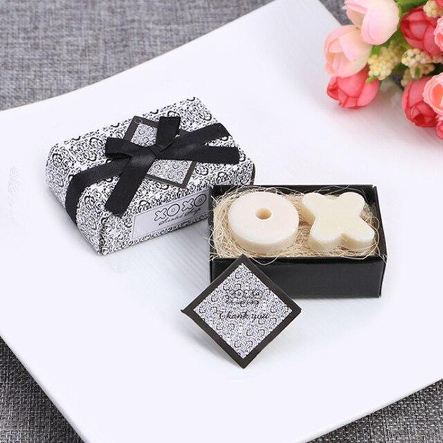 Mini Handmade Soap Cute Shape Small Boxed Soap Handmade Soap Unique Souvenir Scented Wedding Gift Party Supplies Skin Care TSLM1