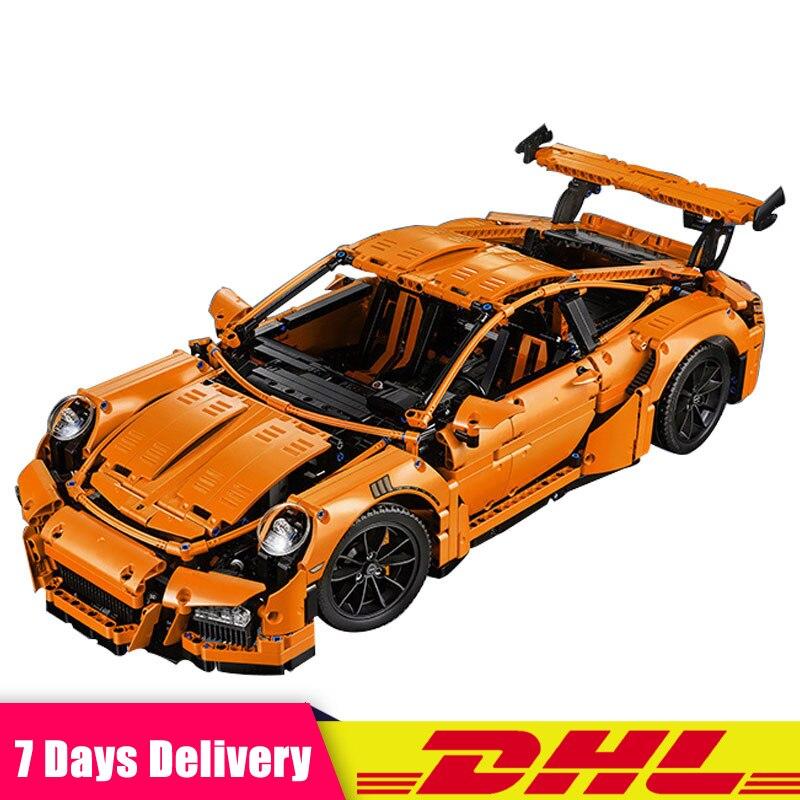 2018 Technic Super Race Car Model Building Kits Bricks Blocks Toys for Children Christmas Gift Compatible Legoinglys 42056