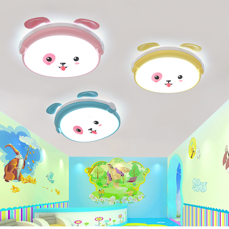 Led cartoon ceiling lamp, Mickey Mouse lamp, childrens room, boys and girls, bedroom classrooms, decorative eye protection lampLed cartoon ceiling lamp, Mickey Mouse lamp, childrens room, boys and girls, bedroom classrooms, decorative eye protection lamp