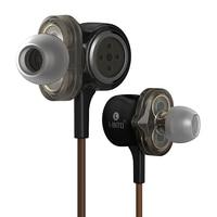 I INTO I8 HIFI Stereo Dynamic Earphone 3 Unit Drive HI FI Bass Earbuds Pop Rock