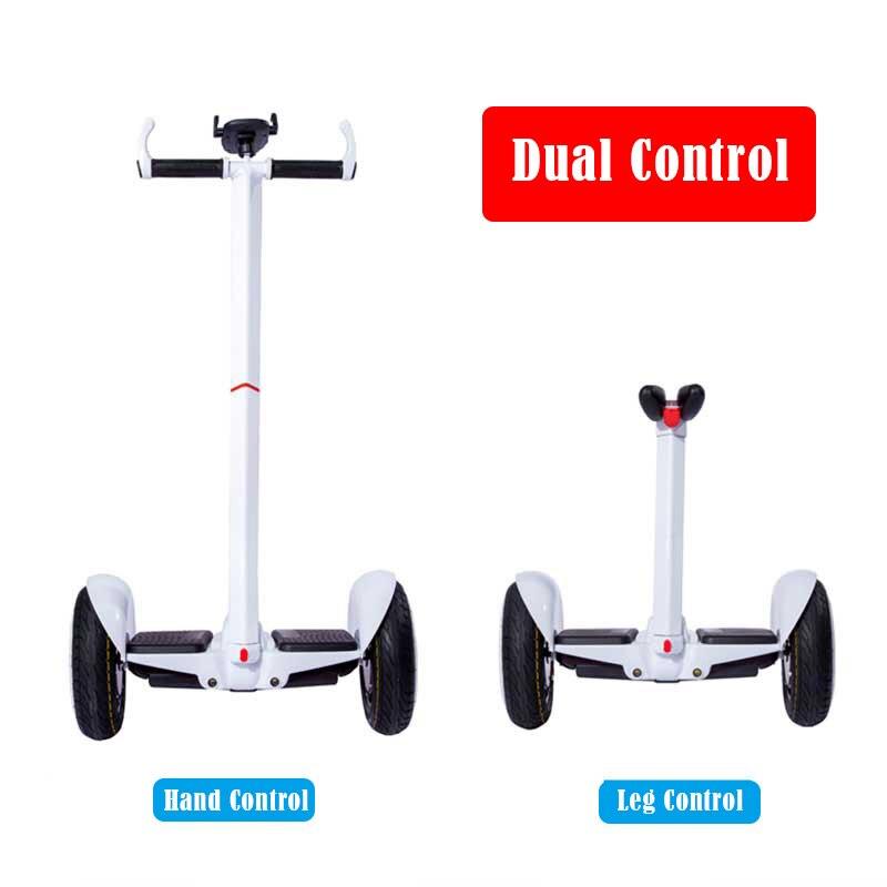 Scooter électrique de contrôle de jambe de Scooter d'équilibre d'individu de Hoverboard électrique de double roue de 54 V - 4