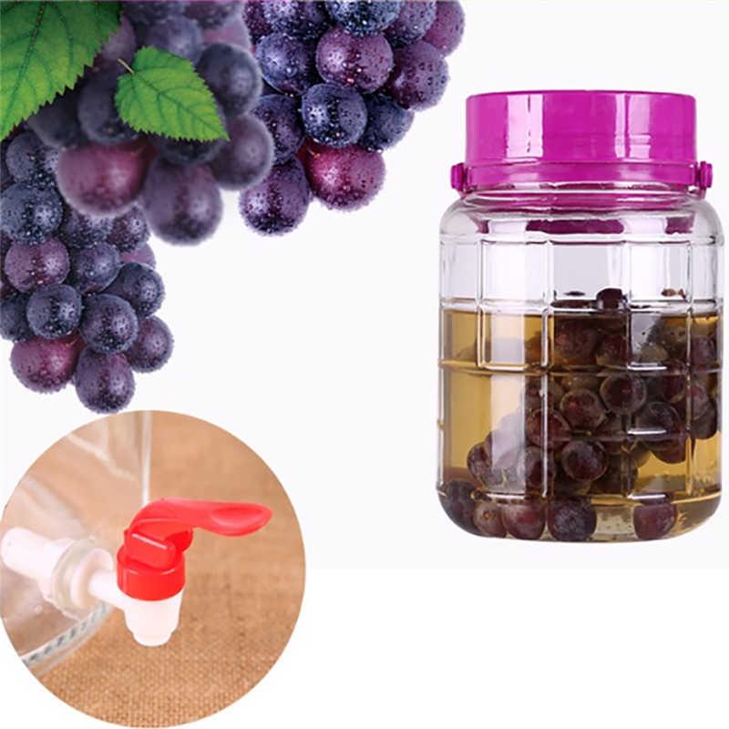 Nowy DIY wino piwo butelkowanie Homebrew wiadro beczka plastikowa czop Tap wymiana