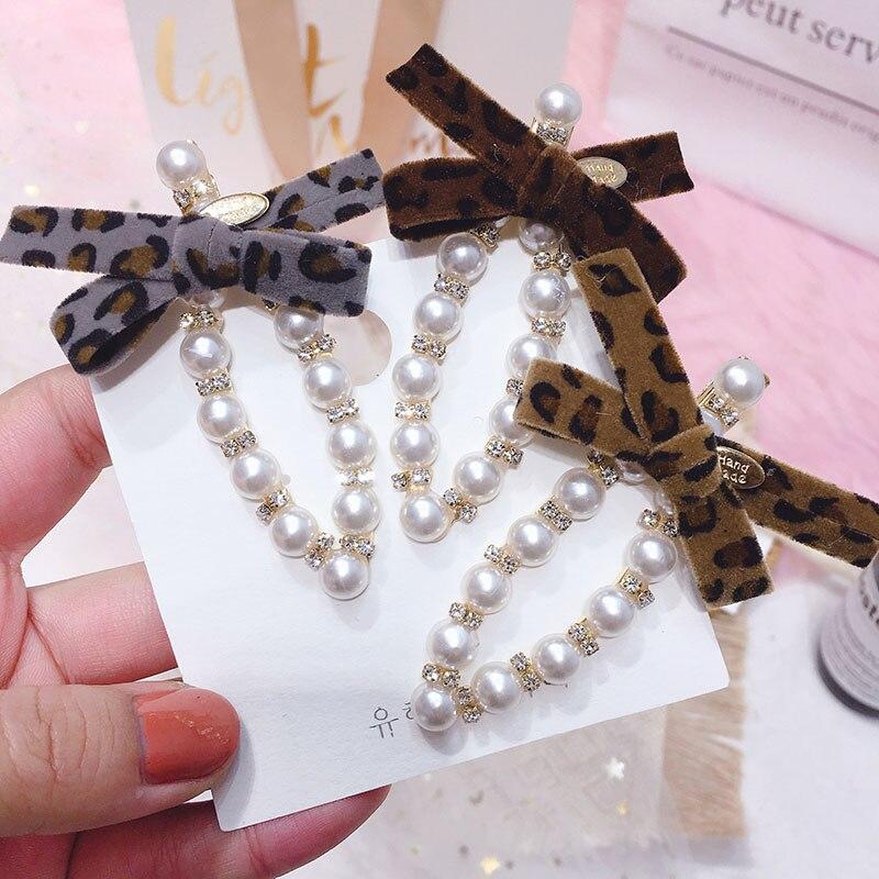 korean fashion leopard print simple