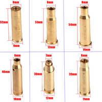 Tactical Red Dot Laser Brass Boresight CAL Cartridge Bore Sighter Cartridge 8MM 9MM .308 6.5X55 .223 .38 7.62X54 Hunting Scope