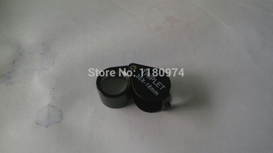 Free Shipping 3pcs 10x,20x,30x Magnifier,Jewelry Testing Loupe,jewelry Gold Silver Metal Diamond Gemstone Glass Magnifier