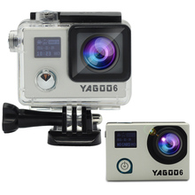 The original yagoo6 gyro Mini DV camera helmet sports action evidence 1080P 30fps ntk96658 20mp with raw for wifi mini camera