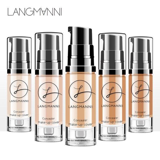 New 30g waterproof Foundation Soft Matte Long Wear Oil Control Concealer Liquid Foundation Cream Fashion Womens Makeup