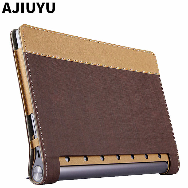 For Lenovo Yoga Tab 3 Plus Case Cover Protective Smart Leather Tablet 10 YOGA TAB3 Plus YT-X703F 10.1 inch PU Protector Sleeve case for lenovo tab 4 10 plus protective cover protector leather tab 3 10 business tab 2 a10 70 a10 30 s6000 tablet pu sleeve 10