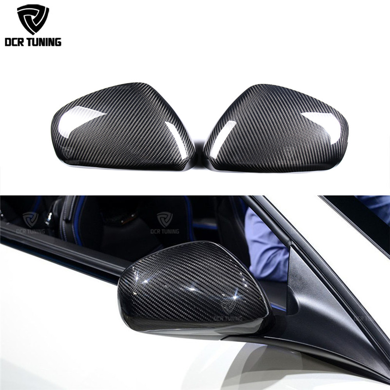 Add On Style For Maserati Gran Turismo & Gran Cabrio Carbon Fiber Rear View Mirror Cover GT GC Quattroporte Carbon mirror caps new laptop lenovo thinkpad x1 hybrid x1 lcd rear back cover the lcd rear cover fru 04w2055