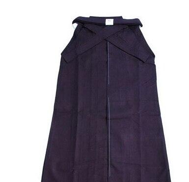 Alta Qualità Kendo Iaido Aikido Hakama Nero Dobok Arti Marziali Uniforme Abbigliamento Sportivo Spedizione Gratuita