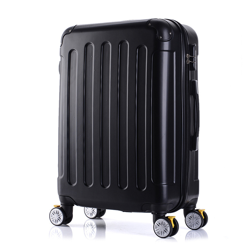 LeTrend Fashion Rolling Luggage Spinner 22 inch Student Suitcase Wheels Trolley 20 inch Carry On Travel Bag password Box