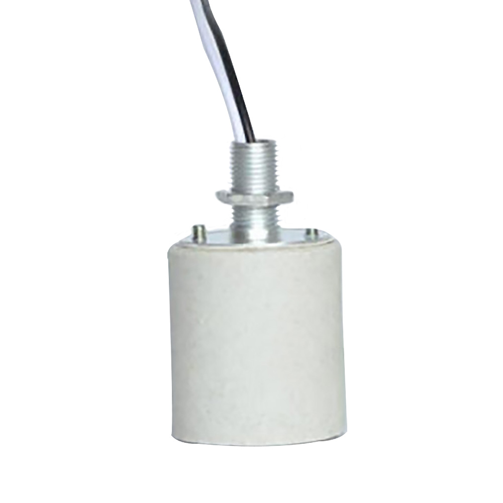 Durable Holder For Bulb Ceramic Screw <font><b>Socket</b></font> E27 <font><b>E14</b></font> Easy Install LED Light With Cable <font><b>Lamp</b></font> Base Adapter Home Use Heat Resistant image