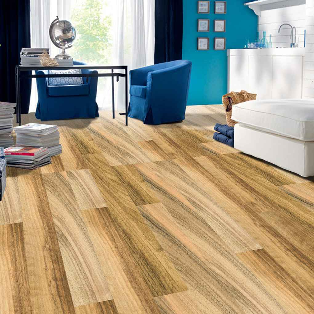 5M autoadhesivo suelo de grano de madera de contacto de papel que cubre PVC película decorativa extraíble pegatinas de pared decoración moderna del hogar