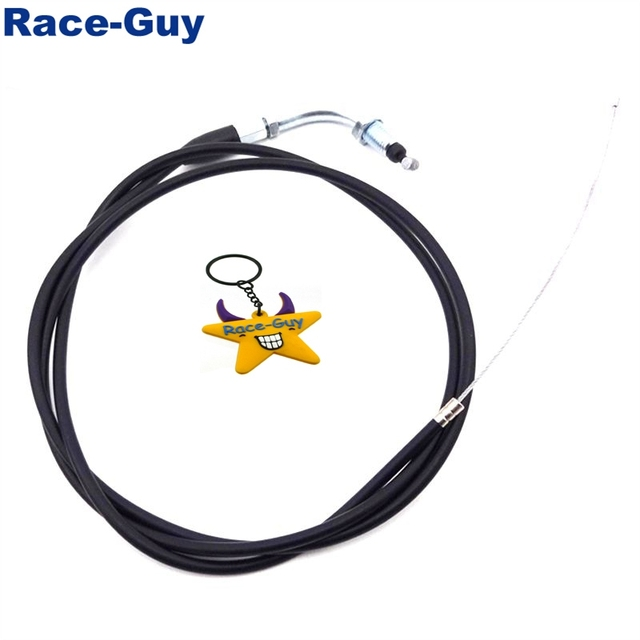1500mm 59″ Racing Carb Gas Throttle Cable For 2 Stroke 49cc 50cc 60cc 66cc 80cc Gas Motorized Bicycle Push Bike