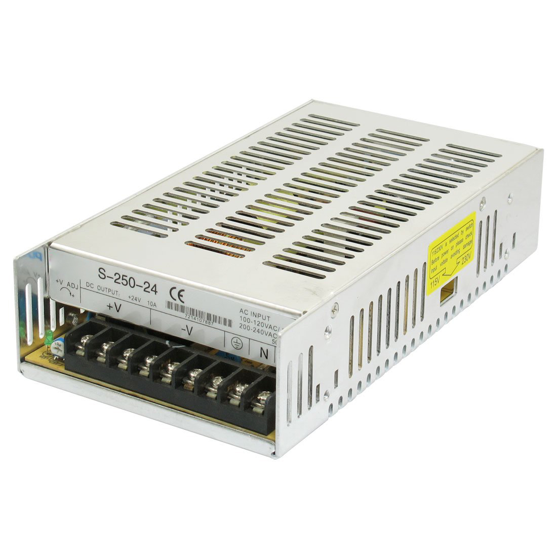 Three Output Switching Power Supply DC 24V 10A 250W for LED Light s 250 24 24v 10 4a energy saving dc power supply switching 250w