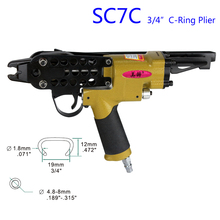 Plier Hog-Ring Air-Nail-Gun Pneumatic Naier SC7C Alifix Authentic Original