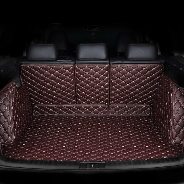 kalaisike Custom car trunk mat for BMW all models f30 f10 e46 x5 x1 x3 e36 e90 e39 e70 x5 X4 X6 car accessories styling
