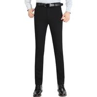 Autumn Winter Men Suit Pants Mens Silk Trousers Business Men S Pant Western Style Pants Formal