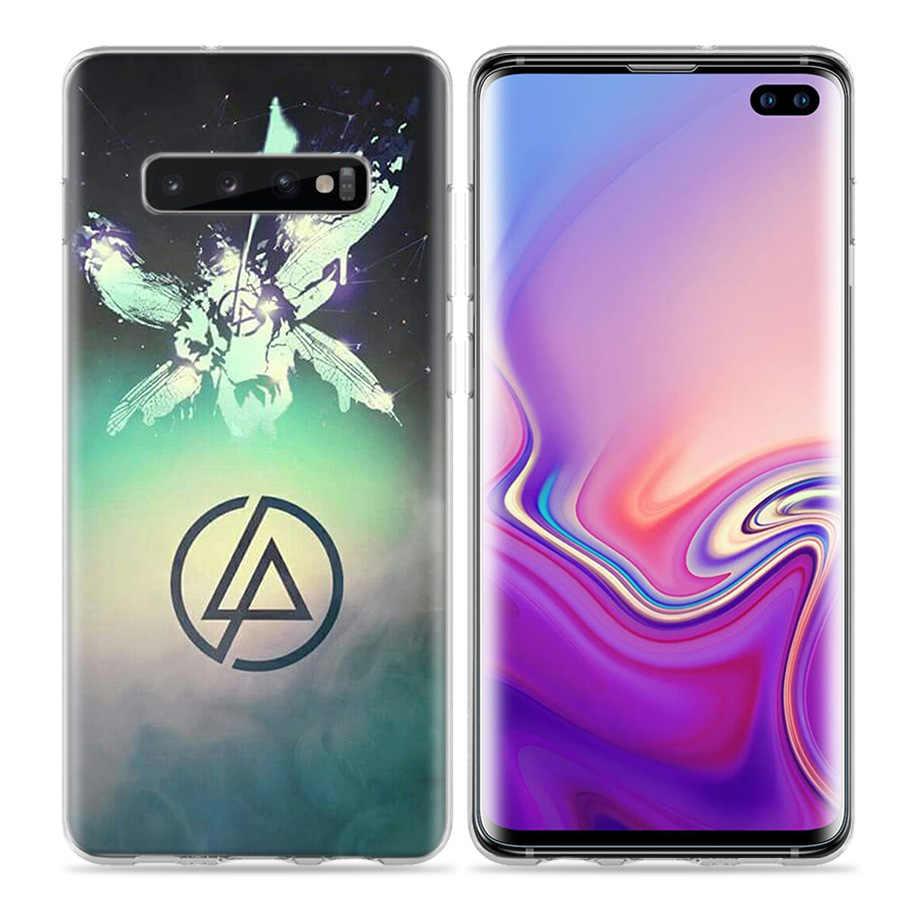 Linkin Park étui pour samsung Galaxy S20 Plus S8 S9 S10 5G S10e S7 Note 8 9 10 J4 J6 2018 Silicone Fundas Capa Sacs de Téléphone
