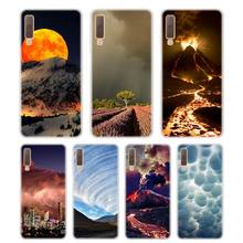 Silicone Phone Case Thunderstorm Printing for Samsung Galaxy A8S A9 A8 Star A7 A6 A5 A3 Plus 2018 2017 2016 Cover