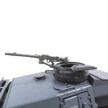 Мату купол металла пулемет для Heng Long 3848/49/68-1 1/16 1:16 RC Panzer III IIIH Stug III бака