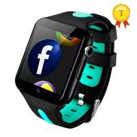 best selling Children Anti Lost 3g GPS smart watch kids gps watch child tracker sim card support facebook email app download