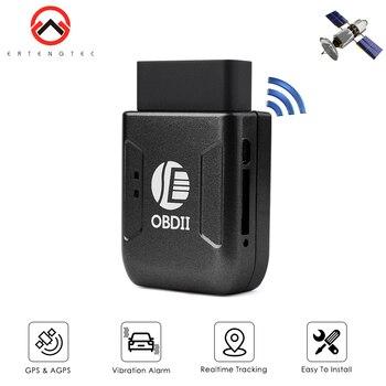 Rastreador de coche TK206, 2G/GSM, rastreador Mini GPS, OBDII, seguimiento en tiempo...