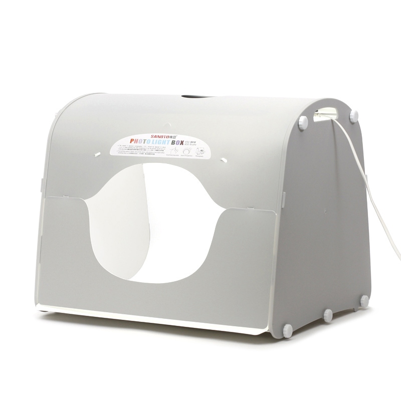 SANOTO Softbox K60 For 220/110V EU US UK AU LED Photo Studio Professional Portable Mini Kit Photo Photography Studio Light Box