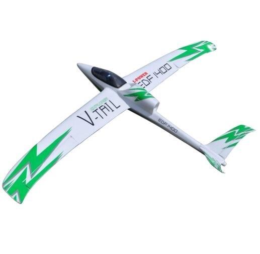 Explorer 50mm EDF 1400mm V tail glider EPO RC jet plane JA 12